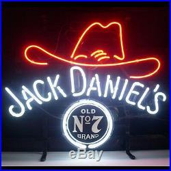 18x14Jack Daniel's Neon Sign Light Beer Bar Pub Party Home Room Wall Decor