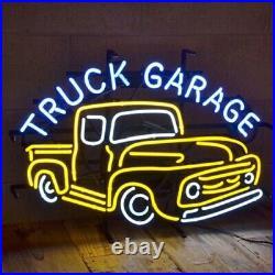 24x20Truck Garage Neon Sign Light Beer Bar Pub Wall Decor Nightlight Artwork