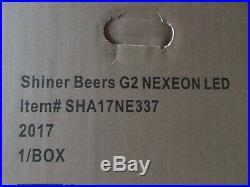27 x 15 New Shiner Bock Brewing Texas LED Opti Neo Neon Beer Sign bar light