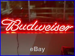 30 Long Budweiser Bud Light Led Beer Sign