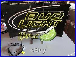 Bud Light Green Lime Logo Neon Sign Beer Bar Light FREE SHIPPING BEST DESIGNED