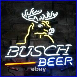 Busch Beer Bar Deer Sign Vintage That Neon Sign Hanging Outside That Bar