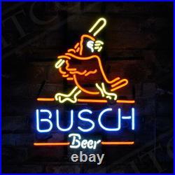 Busch Sport bontique Beer Bar Bistro Man Cave Window Neon Sign Light Window Pub