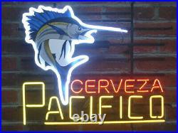 Cerveza Pacifico Beer Neon Light Sign 20x16 Club Display Handcraft Wall Decor
