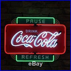 Coa Cola Vintage Neon Sign Light Beer Drinking Bar Sign Wall Decor Neon Light