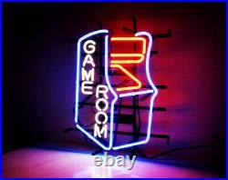 GAME ROOM Man Cave Beer Bar Neon Sign Light Cyber Digital Beer Bar LED