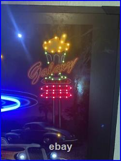 Galaxy Diner Beer Neon Sign Led Picture 36x24