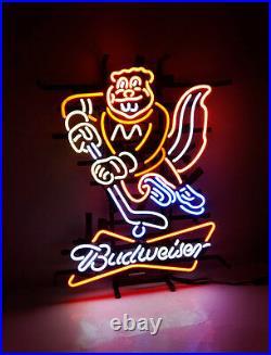 Hockey Bvd Beer Bar Handcraft Neon Light Sign Bistro Wall Decor Custom Bar Gift