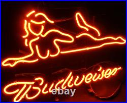 Hot Girl Vintage Neon Sign Cusom Lamp Beer Bar Pub Party Wall Decor