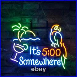 It's 500 Somewhere Custom Artwork Store Porcelain Decor Beer Gift Neon Sign