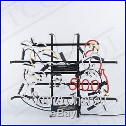It's 500 Somewhere Parrot Neon Sign Light Visual Artwork Beer Bar Decor19x15