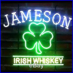 Jameson Irish Whiskey Beer Bar Pub Store Party Room Wall Decor Neon Signs 19x15