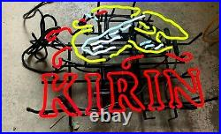 KIRIN ICHIBAN Japanese Beer Neon Beer Bar Sign