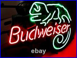 LIZARD Artwork Store Gift Custom Neon Signs Boutique Decor Beer Light Real Glass