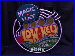 Magic Hat LOW KEY Session IPS 3D Neon Beer Sign Bar Light 24 by 24