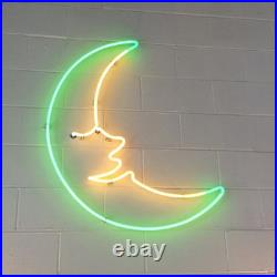 Moonlight Dreams Neon Sign Lamp Light Acrylic 17x17 Beer Bar With Dimmer