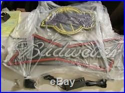 NEW 36 Budweiser Lakers Basketball LED Beer Bar Man Cave Sign Light Neo Neon