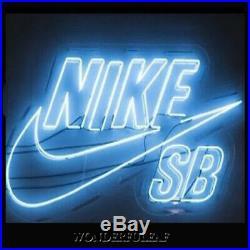 NIKE SB Sign 35x23Huge Store Beer Bar Pub Wall Display Decor Neon Sign Light