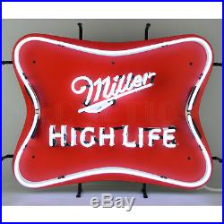 Neon Sign Miller High Life Bar beer wall lamp light Banquet Golden Colorado