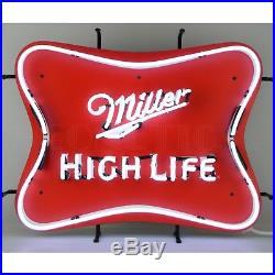 Neon Sign Miller High life Golden Colorado est 1903 American Champagne of beer