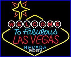 Neon Signs Las Vegas Casino Beer Bar Party Recreation Room Wall Decor 24X20