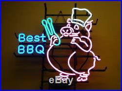 New Best BBQ Bar Beer Neon Sign 17x14