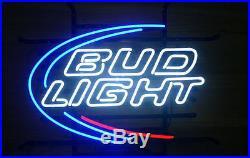 New Bud Light Budweiser Beer Neon Sign 19x15