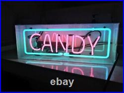 New Candy Neon Sign Lamp Light 14 Acrylic Box Beer Bar Glass With Dimmer