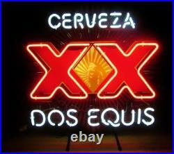New Cerveza XX Dos Equis Neon Sign Beer Bar Pub Gift Light 17x14