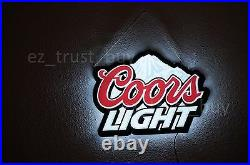 New Coors Light Mountain Light Lamp Beer Bar Man Cave LED Neon Sign 17