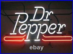 New Dr Pepper Soda Neon Light Sign 20x16 Beer Cave Gift Lamp