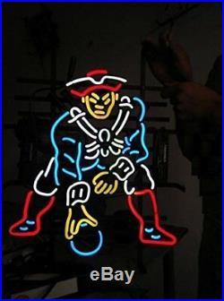 New England Patriots Logo Bar Beer Lamp Neon Light Sign 24x20