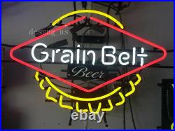 New Grain Belt Beer Lamp Light Neon Sign 24x20