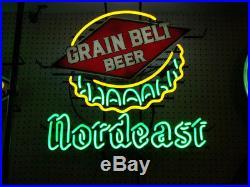 New Grain belt Beer Nordeast Bottle Cap Neon Light Sign 24x20