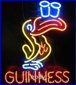 New Guinness Toucan Beer Bar Man Cave Neon Light Sign 17x14