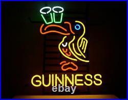 New Guinness Toucan Neon Sign Beer Bar Pub Gift Light 17x14
