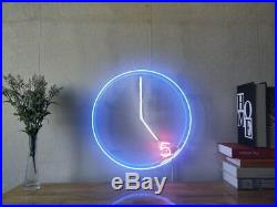 New It's 5 O'clock Somewhere Beer Bar Neon Sign Home Decor Art Light With Dimmer