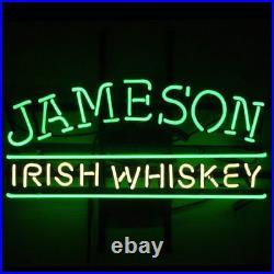 New Jameson Irish Whiskey Neon Sign Beer Bar Pub Gift Light 17x14