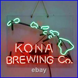 New Kona Brewing Company Hawaii Beer Neon Light Sign Lamp 19x15 Acrylic