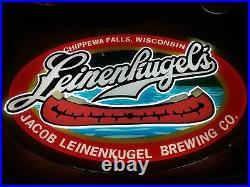 New Leinenkugels Lager Beer Light Lamp Bar LED 3D Neon Sign 17