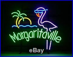 New Margaritaville flamingo Beer Neon Light Sign 20x16