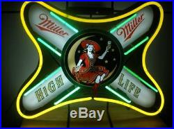 New Miller High Life Beer Neon Light Sign 24x20
