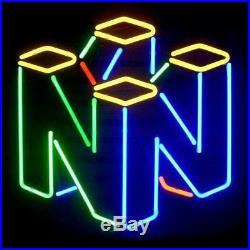 New Nintendo 64 Beer Neon Light Sign 17x14