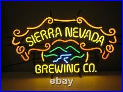 New Sierra Nevada Brewing Co Beer Bar Neon Light Sign 24x20