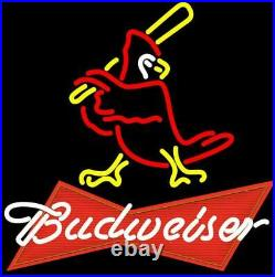 New St Louis Cardinals Neon Sign Beer Bar Pub Gift Light 20x16