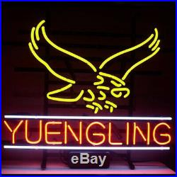 New Yuengling Lager Eagle Neon Light Sign 20x16 Beer Cave Gift Lamp Artwork