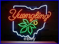New Yuengling Ohio State Beer Neon Light Sign 20x16