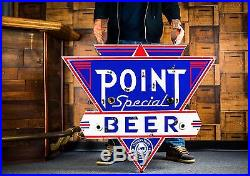 Original Stevens Point Special Porcelain Neon Beer Sign WOW! HOLY GRAIL
