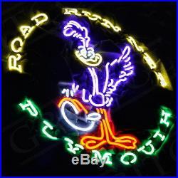 ROAD RUNNER PLYMOUTH Sign Bar Pub Beer Neon Light Bedroom Canteen Saloon Patio