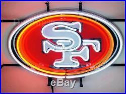San Francisco 49ers Beer Bar Light Lamp Neon Sign 20 With HD Vivid Printing